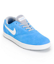 Nike SB Eric Koston 2 Lunarlon Photo Blue & White Skate Shoes