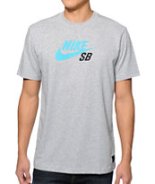 Nike SB Icon Dri-Fit Grey T-Shirt