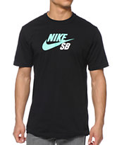 Nike SB Icon Logo Dri-Fit Black Tee Shirt