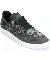 Nike SB Lunar Oneshot Black & Gorge Green Skate Shoes
