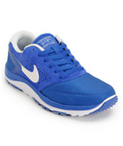 Nike SB Lunar Rod Royal Blue & White Shoe