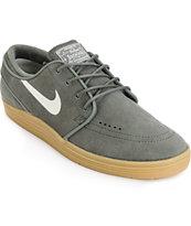 Nike SB Lunar Stefan Janoski River Rock & Gum Skate Shoes