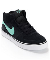 Nike SB Mavrk Mid 2 Black, White & Mint Skate Shoe