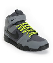 Nike SB Mogan Mid 2 OMS Dark Grey & Atomic Green Shoe