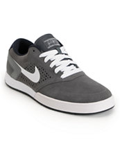 Nike SB P-Rod 6 LR Dark Grey, White & Dark Obsidian Skate Shoe