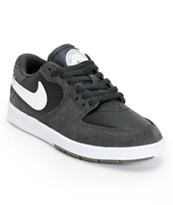 Nike SB P-Rod 7 GS Anthracite, White, & Black Boys Skate Shoe