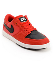 Nike SB P-Rod 7 GS University Red, Black & White Boys Shoe
