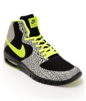 Nike SB P-Rod 7 Hyperfuse Max Premium Black, Volt, Metallic Silver Shoe