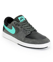 Nike SB P-Rod 7 Low Black, Grey, & Mint Skate Shoes