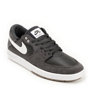 Nike SB Paul Rodriguez 7 Anthracite, Black, & White Skate Shoe