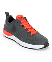 Nike SB Project BA Anthracite, Black, & Light Crimson Skate Shoe