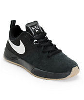 Nike SB Project BA Black, Silver, & Gum Skate Shoe
