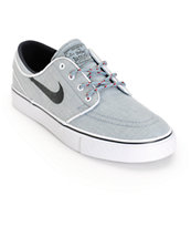 Nike SB Stefan Janoski Dove Grey & Anthracite Boys Skate Shoes