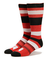 Nike SB Stripes Red, White, & Black Crew Socks