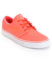 Nike SB Zoom Stefan Janoski Atomic Red & White Skate Shoe