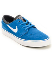 Nike SB Zoom Stefan Janoski Game Royal & Black Boys Skate Shoes