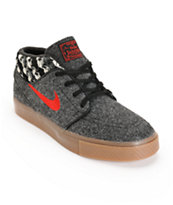 Nike SB Zoom Stefan Janoski Mid Warmth Skate Shoes