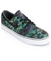 Nike SB Zoom Stefan Janoski PR Gorge Green & Black Skate Shoes
