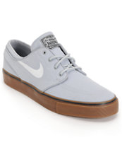 Nike SB Zoom Stefan Janoski Wolf Grey & Gum Shoes