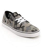 Nike SB x Poler Braata LR Black & Geyser Grey Camo Canvas Shoe