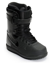 Nike Zoom Force 1 All Black Snowboard Boots