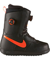 Nike Zoom Force 1 BOA Black & Hyper Crimson Snowboard Boots