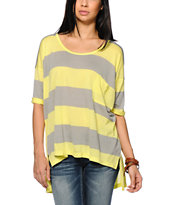 Nikita Boxy Top Stripe Oversized Tee Shirt
