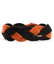 Nikita Hekla Black & Orange Braided Headband