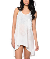 Nikita Imperial White High Low Dress