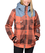 Nikita Mayon Coral 10K Girls Snowboard Jacket 2014