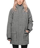 Nikita Saga Heather Black 8K Snowboard Jacket