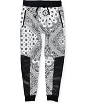 Ninth Hall Bandana Polyurethane Jogger Pants