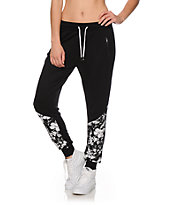 Ninth Hall Bentley Floral Panel Jogger Pants