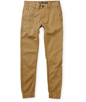Ninth Hall Boys Henderson Twill Jogger Pants