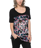 Ninth Hall Carter Notorious Floral Chiffon T-Shirt