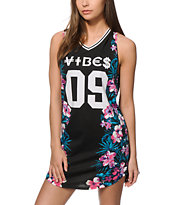 Ninth Hall Ciara Vibes Floral Jersey Dress