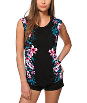 Ninth Hall Lauryn Floral Muscle Tee