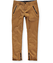 Ninth Hall Montreal Zip Tapered Chino Pants