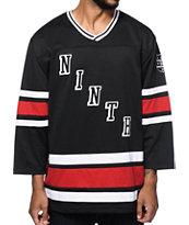 Ninth Hall Red Line Hockey Jersey