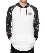 Ninth Hall Rockhard Marble Hooded Shirt