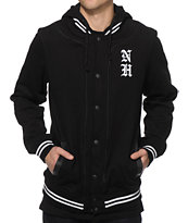 Ninth Hall Squad Hooded Varsity Jacket