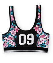 Ninth Hall Trina 09 Floral Crop Tank Top