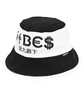 Ninth Hall Vibes Bandana Print Reversible Bucket Hat