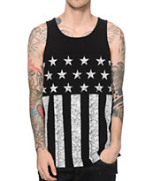 Ninth Hall Vote Yo Star Stripe Tank Top