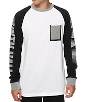 Ninth Hall Wear Tear Long Sleeve Pocket T-Shirt