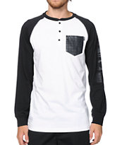 Ninth Hall Wild Henley Baseball Pocket T-Shirt