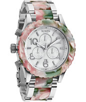 Nixon 42-20 Mint Julep Chronograph Watch