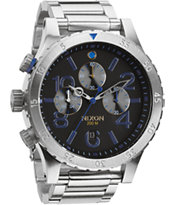 Nixon 48-20 Midnight GT Chronograph Watch