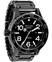 Nixon 51-30 All Black Ceramic Watch