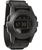 Nixon Baja All Black Compass Watch